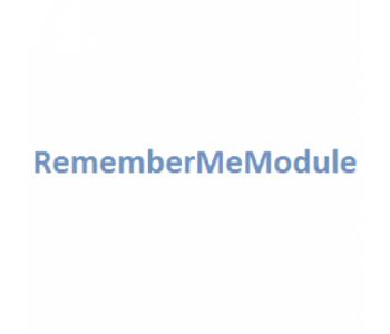 RememberMeModule Запомнить меня v1.1.1