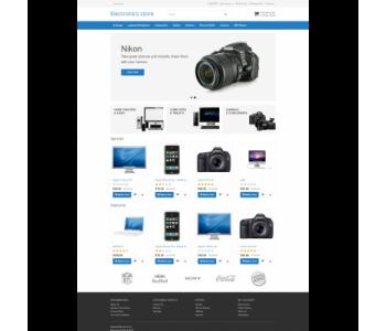 Electronics Store - Универсальный шаблон.