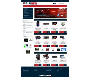 BLURED - Универсальный адаптированный шаблон