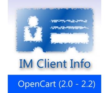 IMClientInfo — Подробная информация о клиентах