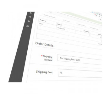Shipping cost manual editor for OpenCart 2.3