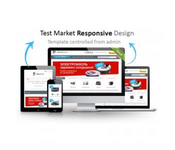 Универсальный Адаптивный шаблон Test Market