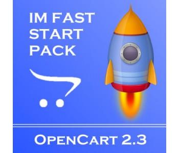 IMFastStartPack OC 2.3 - Пакет модулей для быстрого старта вашего сайта