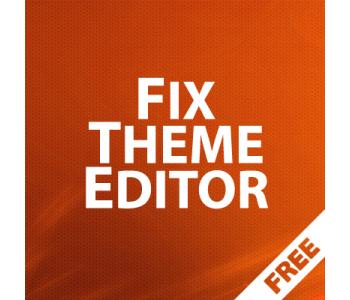 Fix Theme Editor - исправление бага редактора тем в Opencart 3x 1.00