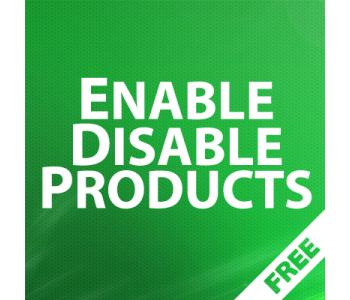 EnableDisable Products - групповое управление статусами товаров 1.05