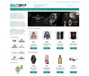 MULTISHOP - Универсальный адаптированный шаблон для Opencart 3