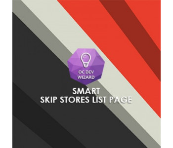 Smart Skip Stores List Page
