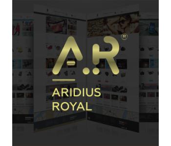 Адаптивный, многомодульный шаблон Aridius Royal
